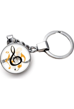 İf Dizayn Müzik Sol Anahtarı Tasarım Anahtarlık