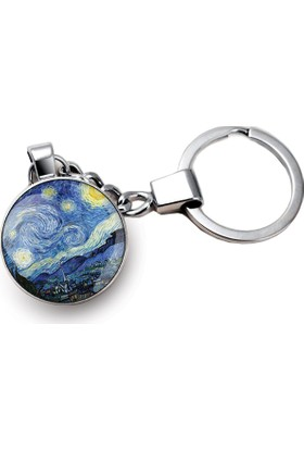 İf Dizayn Van Gogh Yıldızlı Gece Anahtarlık