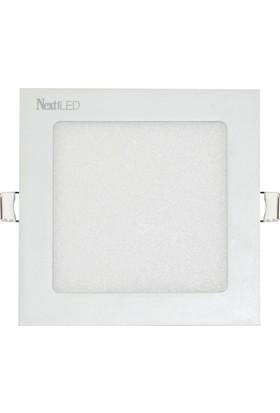 Nextled (Next&NextStar) 9W Kare Led Spot Armatür Sıva Altı Beyaz