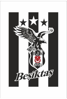 Gönder Bayrak Beşiktaş Bayrağı 3 Yıldızlı 100 x 150 cm