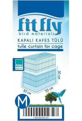 Fit Fly Alti Kapali Kafes Tülü Medium