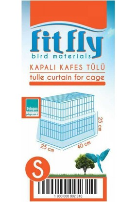 Fit Fly Alti Kapalı Kafes Tülü Small