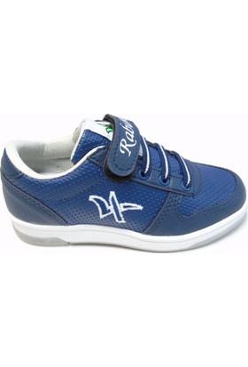 Rabum Point Lacivert Cırtlı Çocuk Spor Ayakkabı