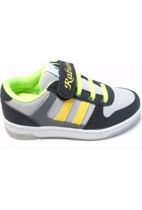 Rabum Clever Buz - Sarı Cırtlı Çocuk Spor Ayakkabı