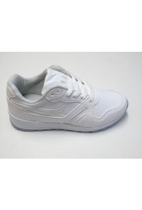 Lookas Knify Günlük Beyaz Spor Ayakkabı