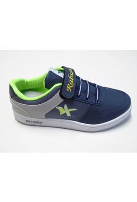 Rabum Cırtlı Lacivert Çocuk Spor Ayakkabı