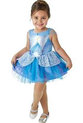 Lisanslı Disney Princess Cinderella Balerin Mavi Kostüm Toddler 2 - 3 Yaş