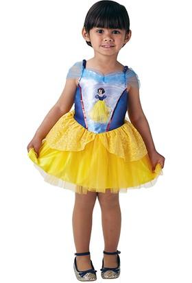 Lisanslı Disney Princess Pamuk Prenses Balerin Sarı Kostüm Toddler