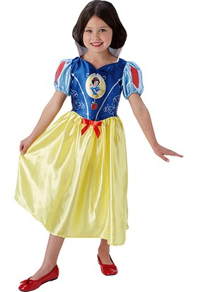 Lisanslı Disney Princess Pamuk Prenses Sarı Kostüm 3 - 4 Yaş