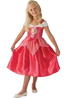 Lisanslı Disney Princess Uyuyan Güzel Pembe Kostüm 3 - 4 Yaş
