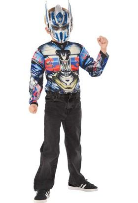 Lisanslı Transformers Optimus Prime Kostüm Standart