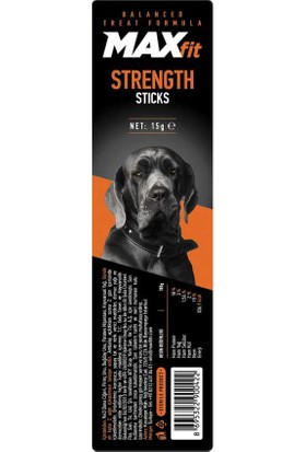 Maxfit Strength Sticks Köpek Ödülü 15 Gr