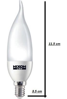 Nixon LED KIVRIK MUM AMPUL 3W 250LM 2700K SARI IŞIK E14