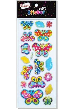 Ticon 138013 Puffy Sticker