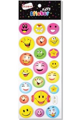 Ticon 164342 Puffy Sticker