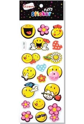 Ticon 164337 Puffy Sticker