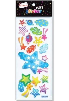 Ticon 138645 Puffy Sticker