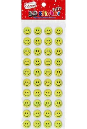 Ticon 177558 Puffy Sticker