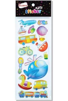 Ticon 138651 Puffy Sticker