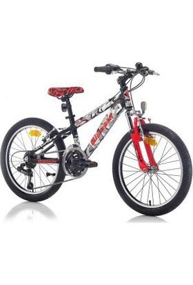 Bianchi Spider 400 Erkek Dağ Bisikleti 20 Jant 18-V Vb Siyah-Beyaz-Gri-Kırmızı