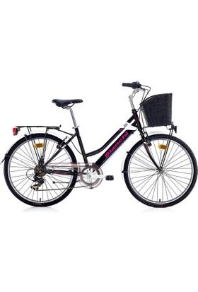 Bianchi Violet Kadın Şehir Bisikleti 26 Jant 440H 7 V Vb Siyah-Lila-Mor