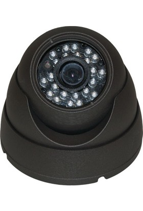 Sapp A1200 603S 1200 Tvl Analog Dome Kamera - Gece Görüşlü 24 Led