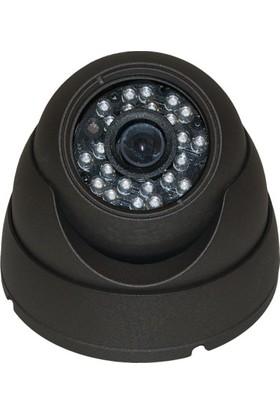 Sapp A1600-603S 1600 Tvl Analog Dome Kamera - Gece Görüşlü 24 Led