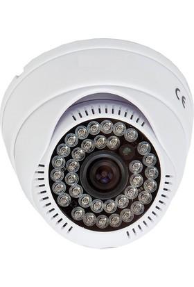 Sapp Ahd3 604 3Mp - 1440P Ahd Hd Dome Güvenlik Kamerası - 36 Ledli