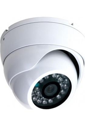 Sapp A1600 603 1600 Tvl Analog Dome Kamera - Gece Görüşlü 24 Led