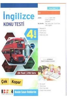 Bsr 4. Sınıf İngilizce Çek Kopar Konu Testi