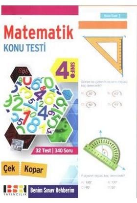 Bsr 4. Sınıf Matematik Çek Kopar Konu Testi