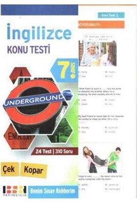 Bsr 7. Sınıf İngilizce Çek Kopar Konu Testi