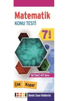 Bsr 7. Sınıf Matematik Çek Kopar Konu Testi