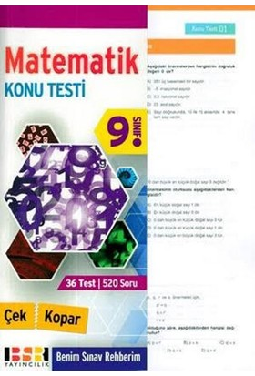 Bsr 9. Sınıf Matematik Konu Testi