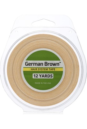 Walker Tape German Brown Protez Saç Bandı 1'' x 12 Yards (2,5 Cm x 11 M)