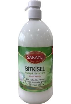 Saraylı Beyaz Bitkisel Sıvı Bulaşık Deterjanı 900 ml
