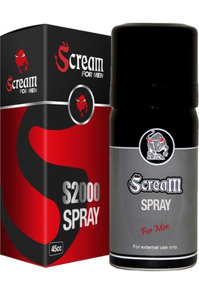 Scream For Men Sprey 45 cc