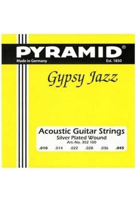 Pyramid Gitar Aksesuar Akustik Tel 0.10 302100