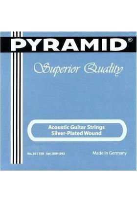 Pyramid Akustik Gitar Teli Silver Super Light 301100