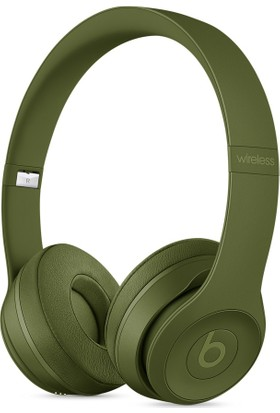 Beats Solo3 Wireless On-Ear Headphones - Neighborhood Collection - Turf Green - MQ3C2ZE/A