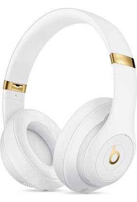 Beats Studio3 Wireless Over-Ear Headphones - White - MQ572ZE/A