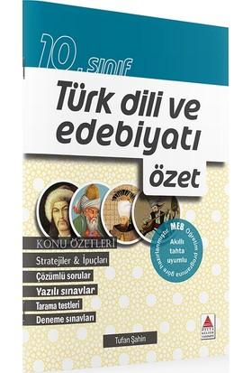 Delta Kültür Yayınevi 10. Sınıf Türk Dili ve Edebiyatı Özet