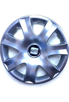 SEAT Cordoba 15 inch Kırılmaz Esnek JANT KAPAĞI 4 Lü