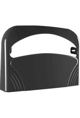 Palex 3460-S Klozet Kapak Örtüsü Dispenseri Siyah