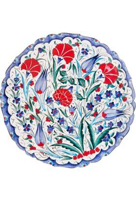 Quartz Ceramics El Yapımı Seramik Dekoratif Duvar Tabağı