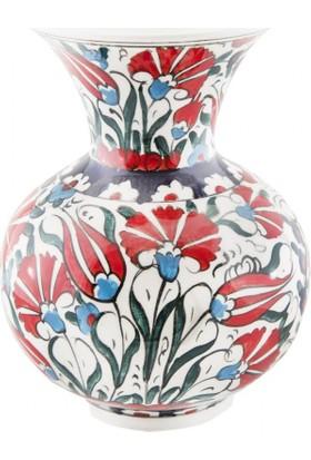 Quartz Ceramics El Yapımı Seramik Vazo