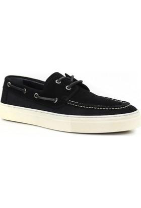 Collina 800 Siyah Süet Deri Erkek Ayakkabı