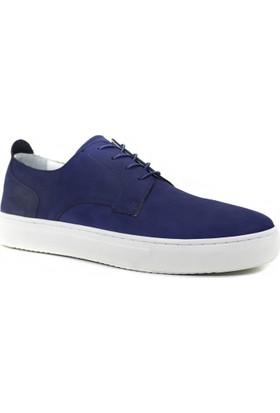 Collina 840 Lacivert Nubuk Deri Erkek Ayakkabı