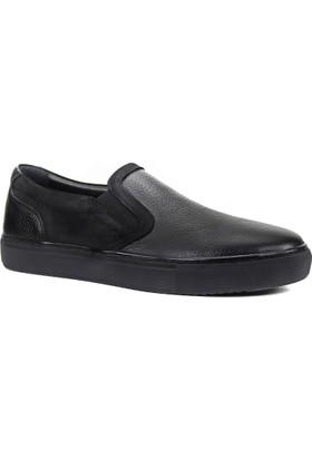 Collina 850 Siyah Cilt Nubuk Deri Erkek Ayakkabı
