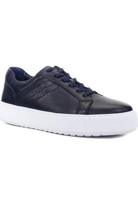 Collina 862/2 Lacivert Deri Erkek Ayakkabı